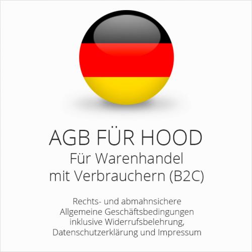 Abmahnsichere AGB für Hood