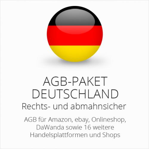 Das AGB-Paket Deutschland von der IT-Recht Kanzlei