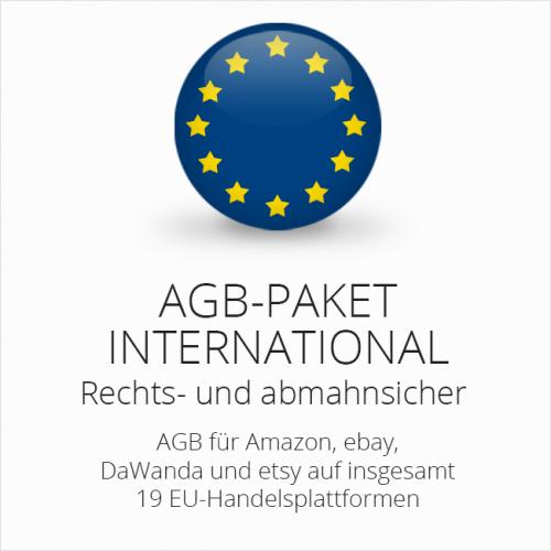Das AGB Paket International von der IT-Recht Kanzlei