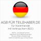 Abmahnsichere AGB für Teilehaber.de inklusive Update-Service. Jederzeit monatlich kündbar.