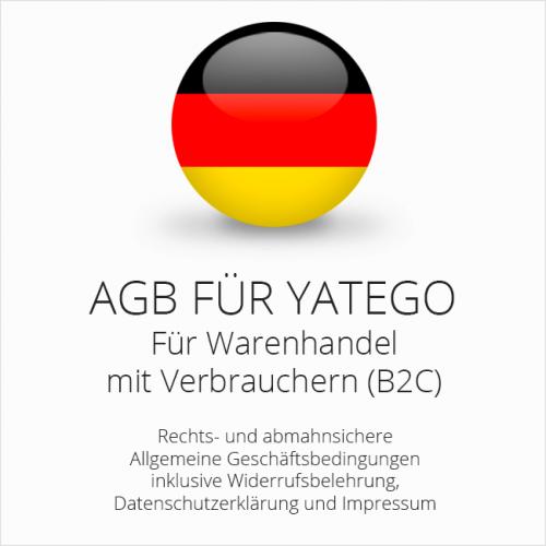 Abmahnsichere AGB für Yatego