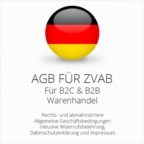 Abmahnsichere AGB für ZVAB B2C & B2B