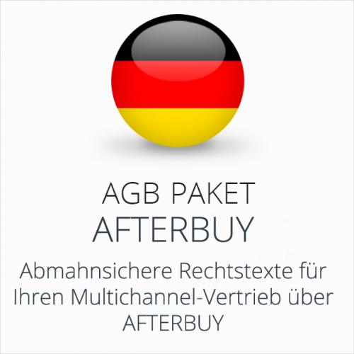 Das AGB Paket Afterbuy für rechtssicheren Multichannel-Vertrieb
