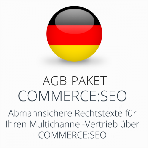 Das Multichannel-AGB-Paket commerce:seo