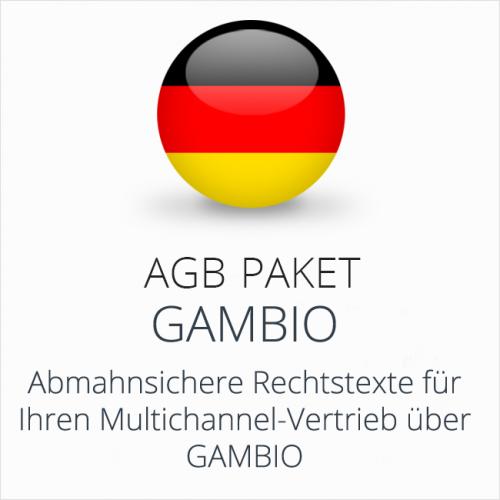 Das Multichannel-AGB-Paket Gambio
