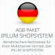 Das Multichannel-AGB-Paket Ipilum Shopsystem