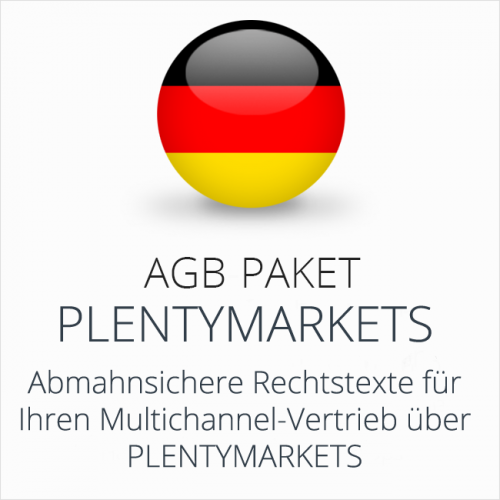 Das Multichannel-AGB-Paket Plentymarkets