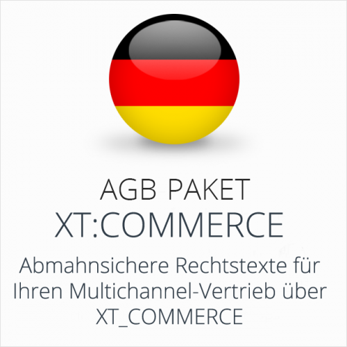Das Multichannel-AGB-Paket xt:Commerce