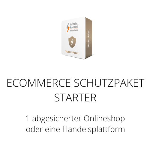 Das Ecommerce Schutzpaket Starter inklusive Update-Service