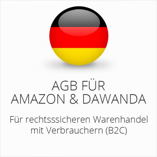 Rechtssichere AGB für Amazon und DaWanda