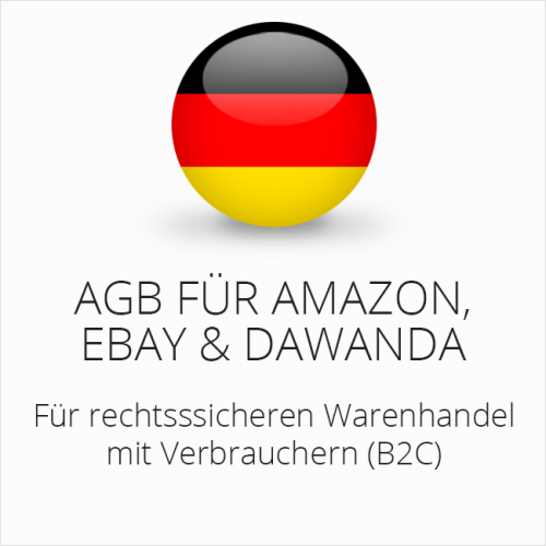 Rechtssichere AGB für Amazon, ebay & DaWanda