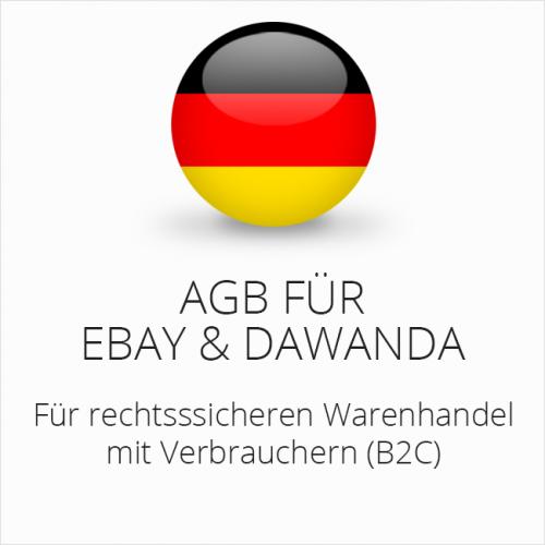 Rechtssichere AGB für ebay und DaWanda