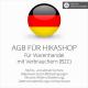 Rechtssichere AGB für HiKaShop mit AGB-Schnittstelle