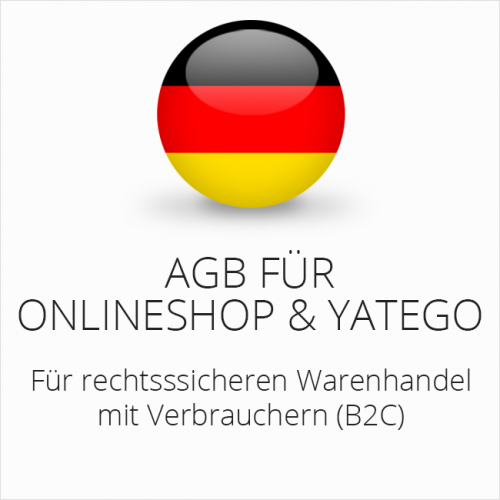 Rechtssichere AGB für Onlineshop und Yatego