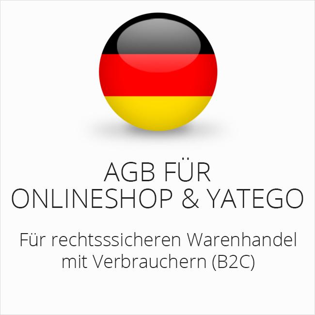 e66962dceec90c AGB für Onlineshop und Yatego   eCommerce AGB