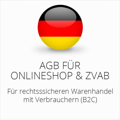 Rechtssichere AGB für Onlineshop & ZVAB